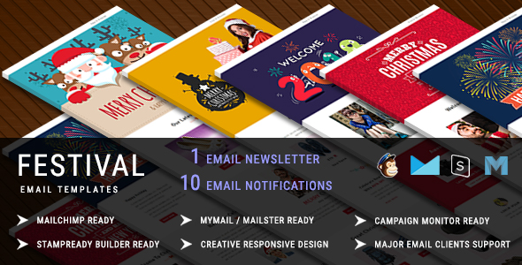 Christmas - Responsive Email Newsletter Template - 1
