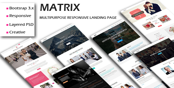 Grand - Lead Generating HTML Landing Pages - 6