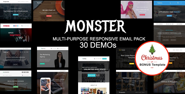 Roxi - Multipurpose Responsive Email Template With Online StampReady Builder Access - 3