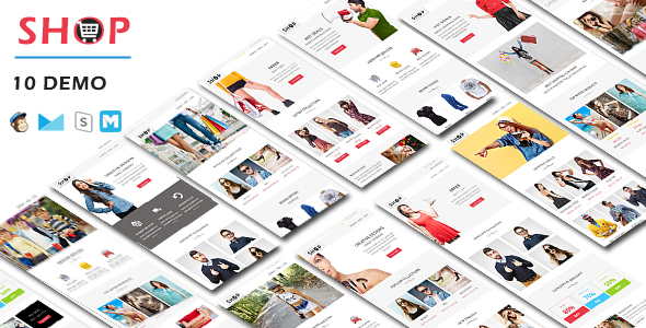 Ener - Multipurpose Responsive Email Template - Stamp Ready Builder Access - 5