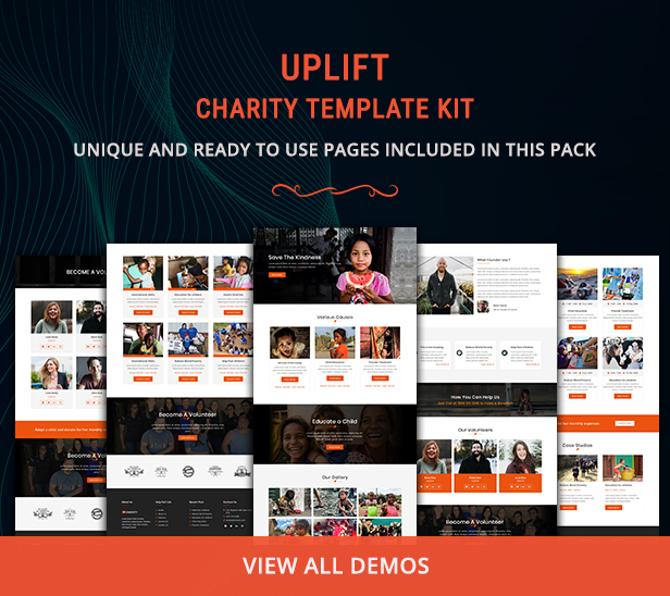 preview-11 Uplift - Charity Template Kit theme WordPress