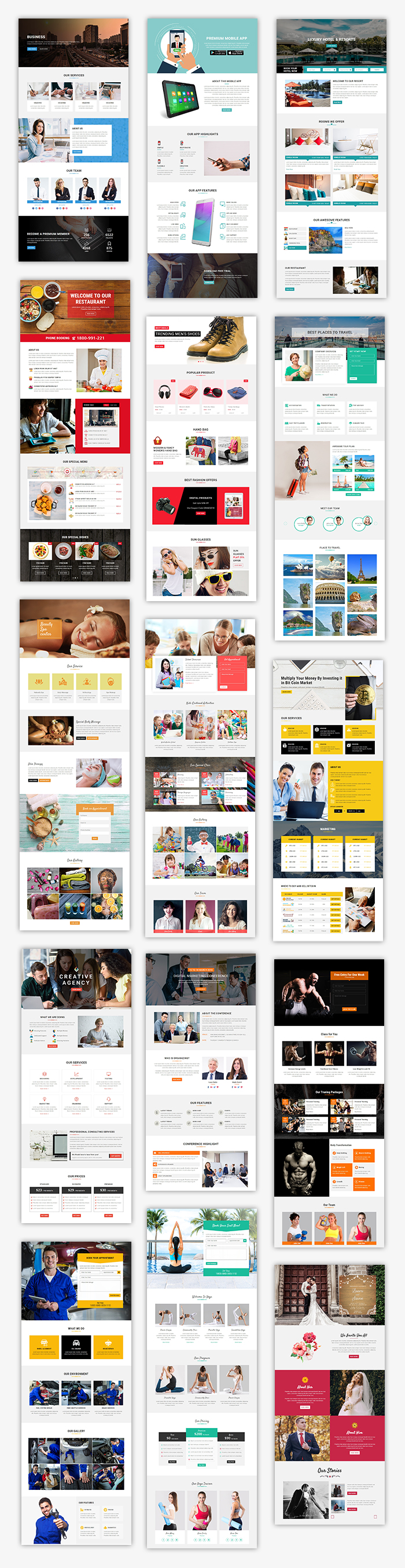 Grand - Lead Generating HTML Landing Pages - 2