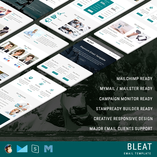 Bleat - Responsive Email Template