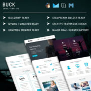 Buck  - Responsive Email Template