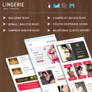 Lingerie  - Responsive Email Template