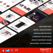 Smarty - Responsive Email Template