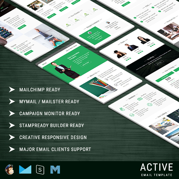 Active - Responsive Email Template
