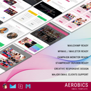 Aerobics - Responsive Email Template