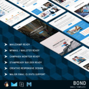 Bond - Multipurpose Responsive Email Template With StampReady Builder Online Access