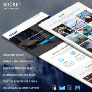 Bucket - Responsive Email Template