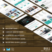 Bull - Multipurpose Responsive Email Template With StampReady Builder Online Access