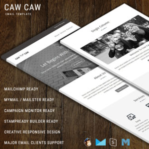 Caw Caw - Responsive Email Template