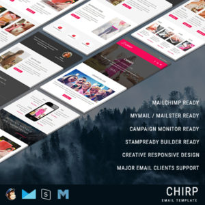 Chirp - Responsive Email Template