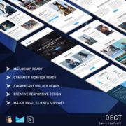 DECT - Multipurpose Responsive Email Template With StampReady Builder Online Access