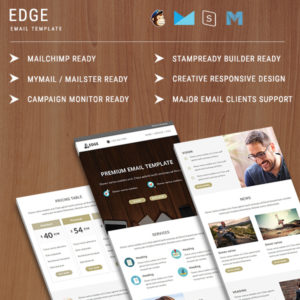 Edge - Responsive Email Template
