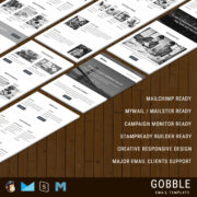 Gobble - Responsive Email Template
