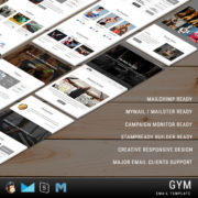Gym - Responsive Email Template