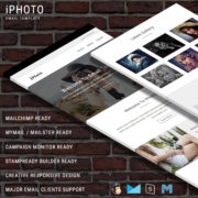 iPhoto - Responsive Email Template