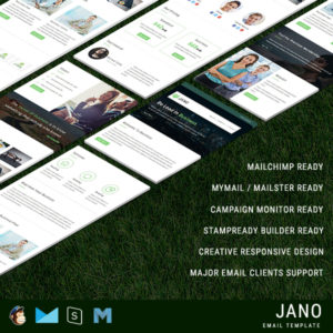 Jano - Responsive Email Template