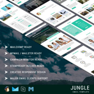 Jungle - Responsive Email Template