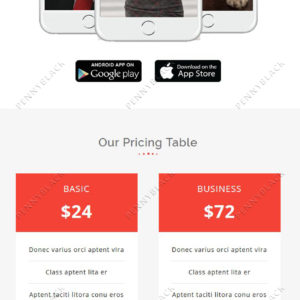 MOBI - Multipurpose Responsive Email Template With StampReady Builder Online Access