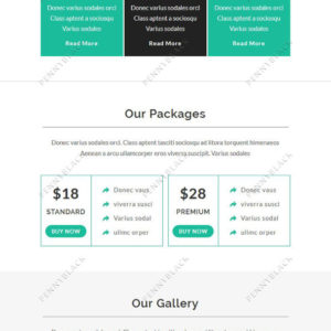 Ener - Multipurpose Responsive Email Template With StampReady Builder Online Access