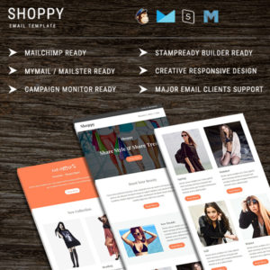 Shoppy - Multipurpose Responsive Email Template