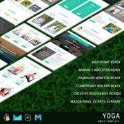 Yoga - Responsive Email Template