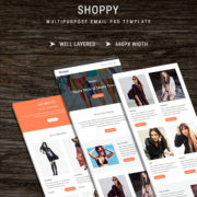 Shoppy - Email PSD Template