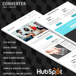Converter Responsive Email Template
