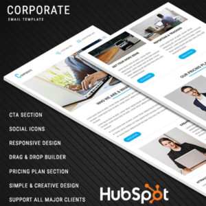 Corporate Responsive Email Template