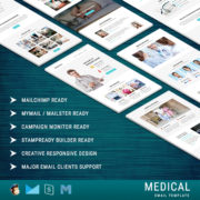 Medical - Responsive Email Template