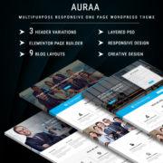 AURAA - Multipurpose Responsive WordPress Theme