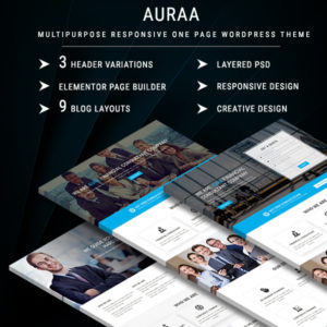 AURAA - Multipurpose Responsive WordPress Theme