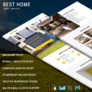 Best Home - Responsive Email Template