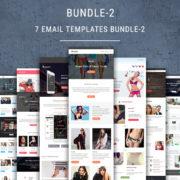 7 Email Newsletter Templates Bundle - 2