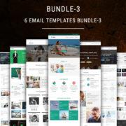 6 Email Templates Bundle - 3