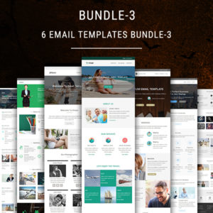 6 Email Templates Bundle - 3