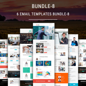 6 Newsletter Templates Bundle - 8