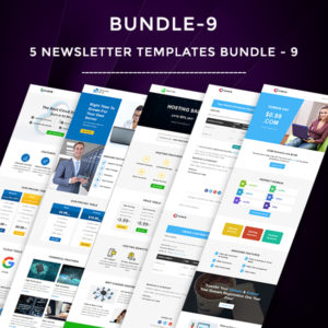 5 Email Templates Bundle - 9