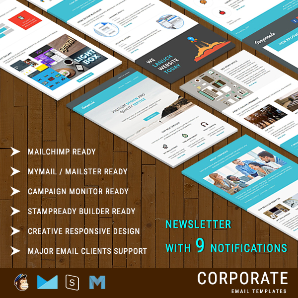 Corporate  Corporate Email Templates  Corporate Newsletter