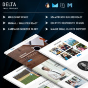 Delta - Multipurpose Responsive Email Template With Online StampReady Builder Access