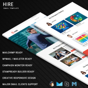 Hire - Responsive Email Template