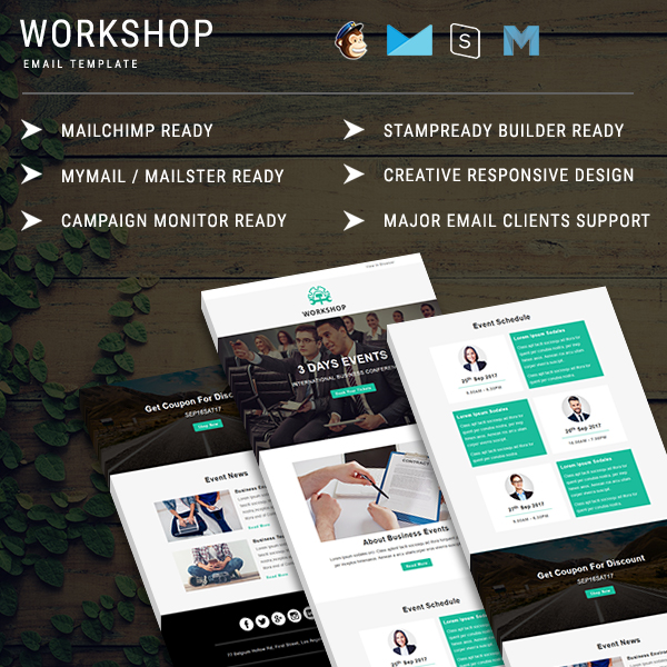 Corporate Email Templates | Corporate Newsletter Template - Pennyblack