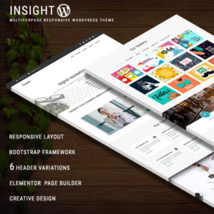 INSIGHT - Multipurpose Responsive WordPress Theme